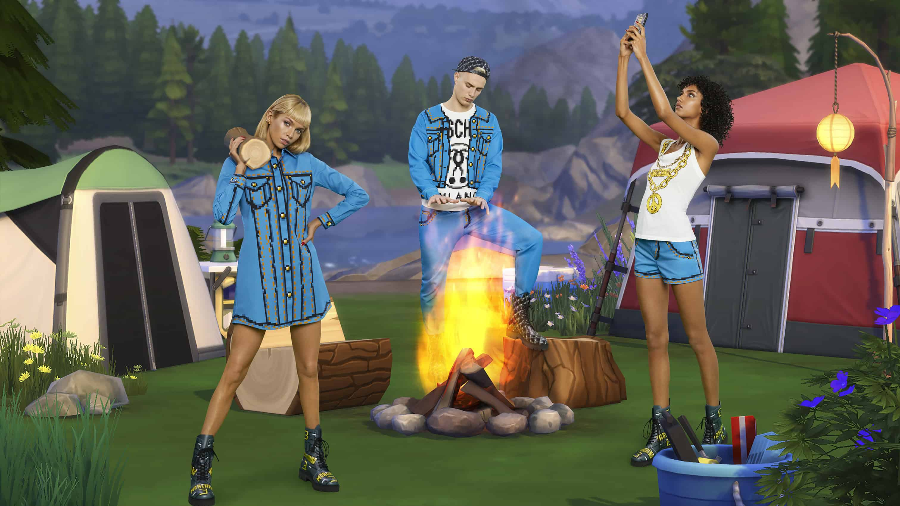 (Moschino x The Sims)