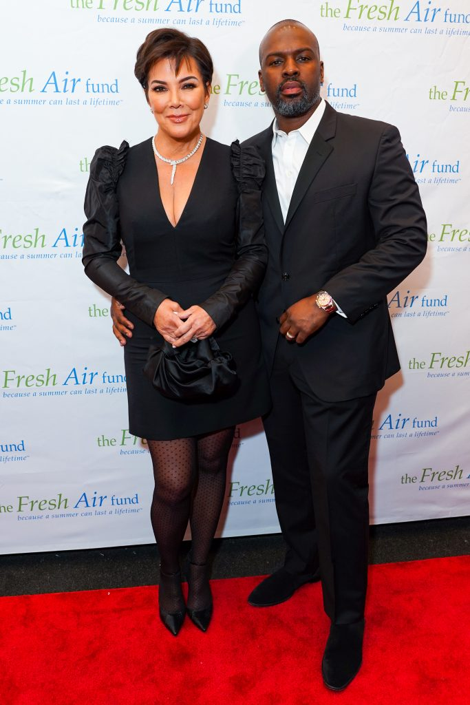Kris Jenner and Corey Gamble (PMC)