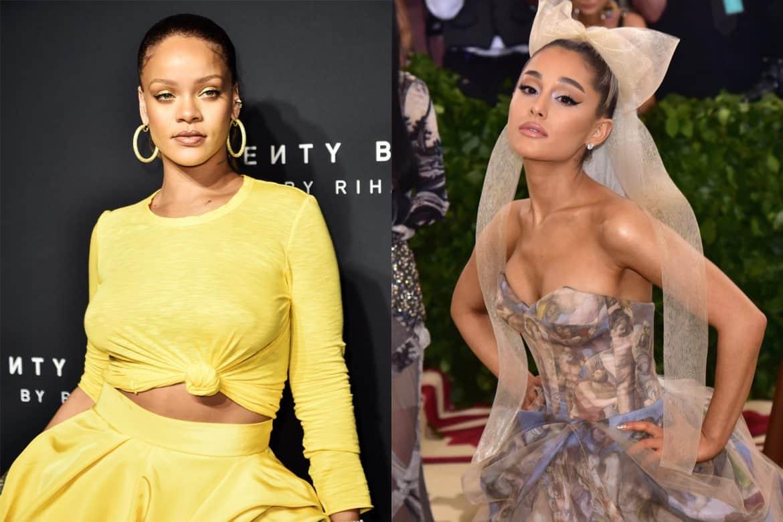 Rihanna Fenty Maison Ariana Grande