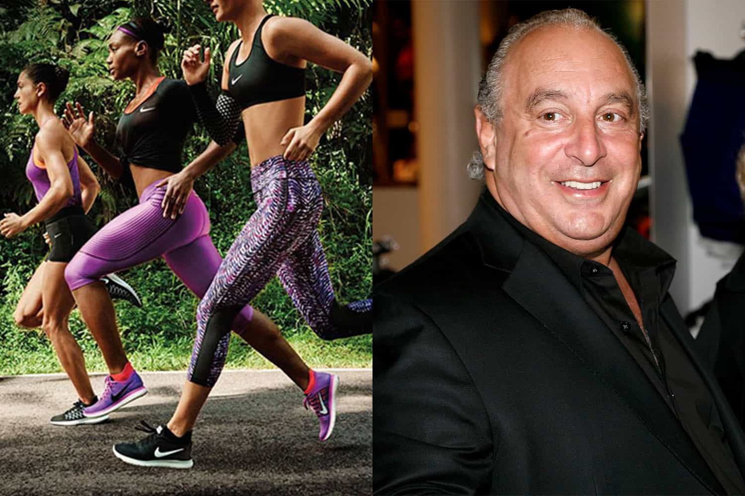 Nike Doesn't Support Pregnant Athletes, Philip Green Loses Billionaire Status