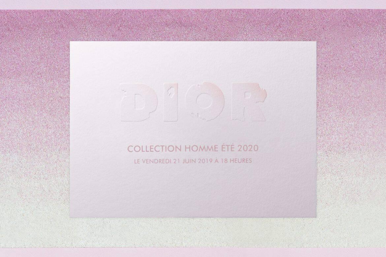 Dior Spring 2020 menswear