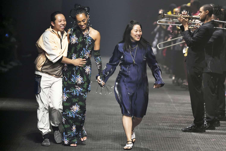 e20fd3d7d9 Humberto Leon and Carol Lim Bid Kenzo Adieu, Prada Gets Sustainable
