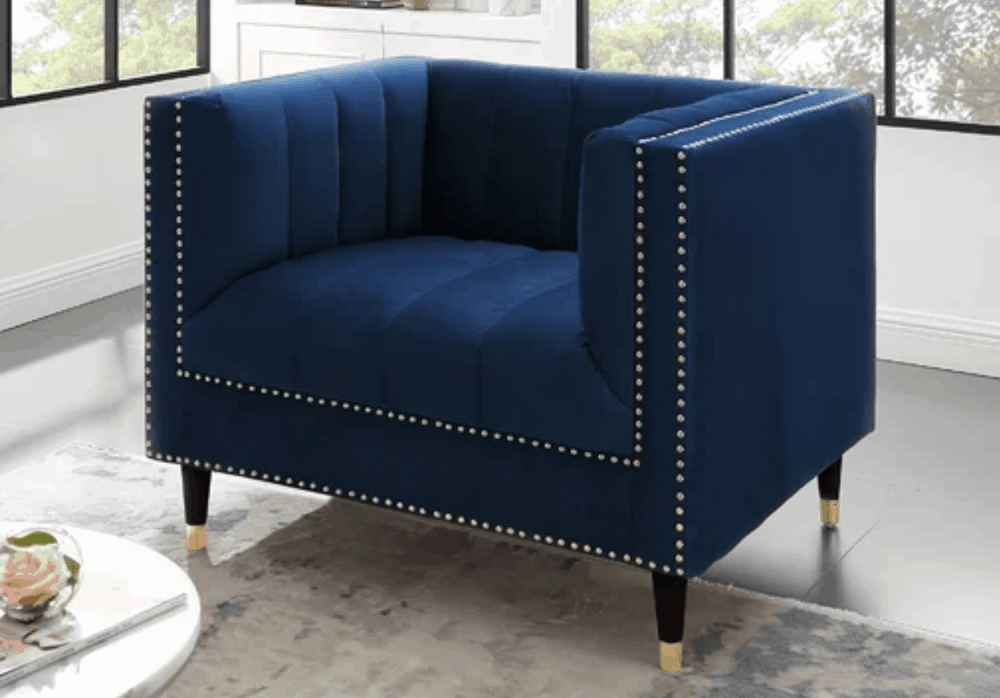 Editor S Pick The Nicole Miller Bahara Club Chair In
