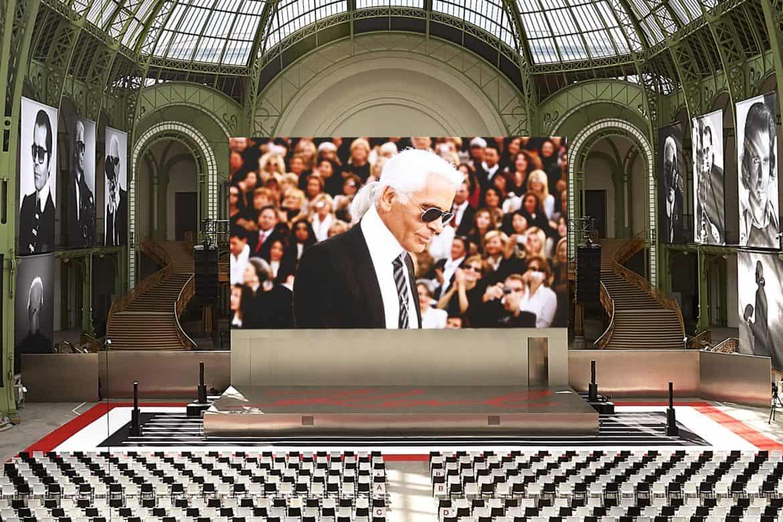Karl Lagerfeld's Paris Memorial