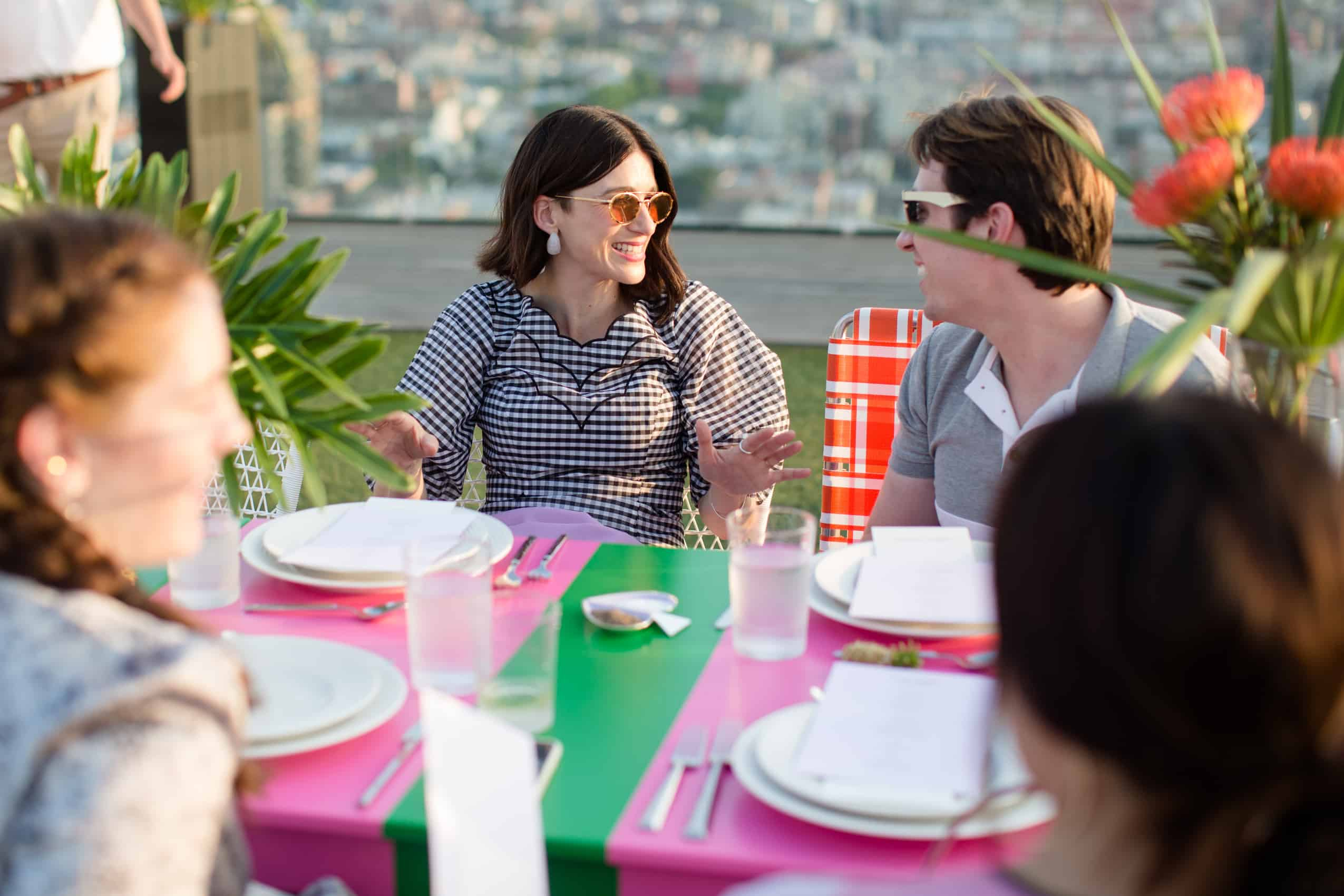 Kate Spade And Leandra Medine Cohen S Chic Rooftop Dinner