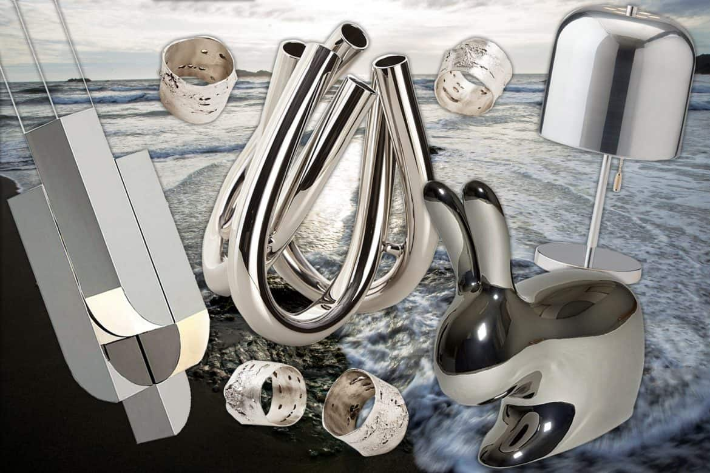silver decor
