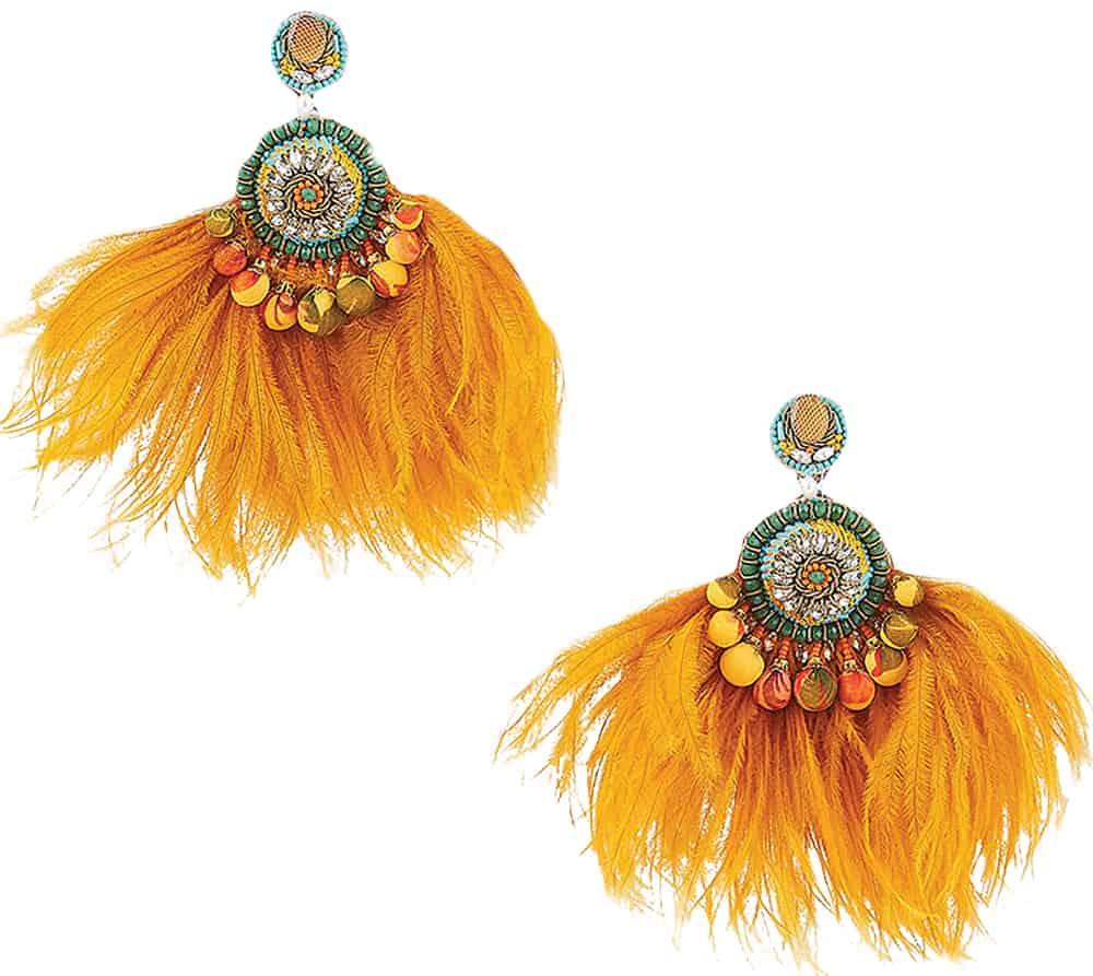 feathered fashion