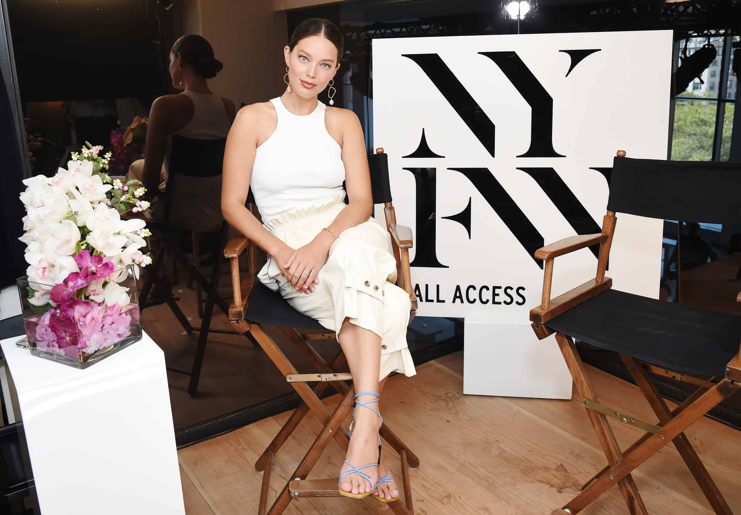 Emily DiDonato Channeled Her Inner Barbara Walters for New Show