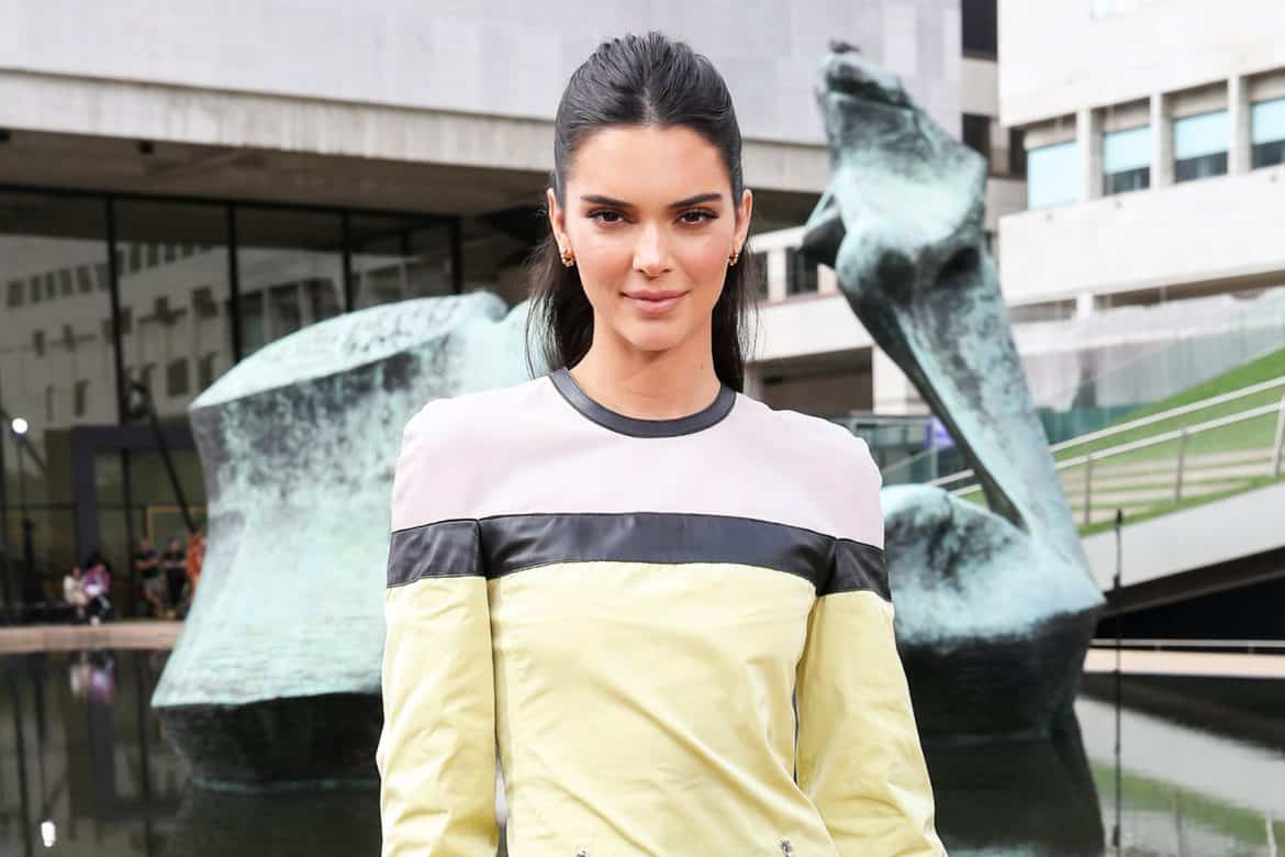 Kendall Jenner at Longchamp