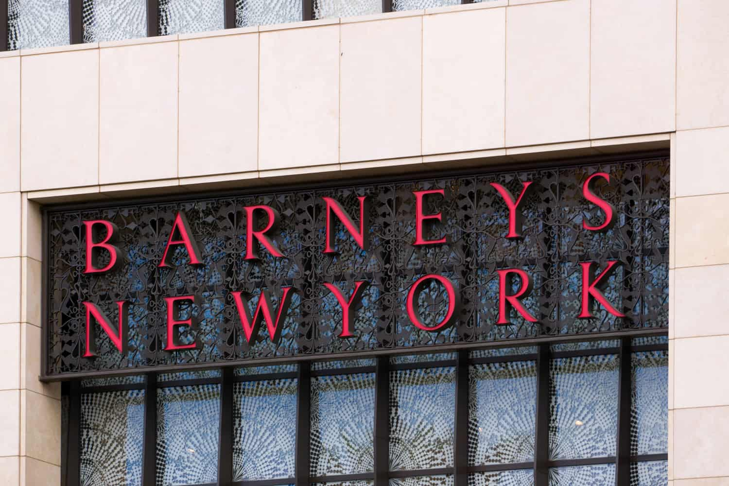 Barneys New York officially being sold piece by piece