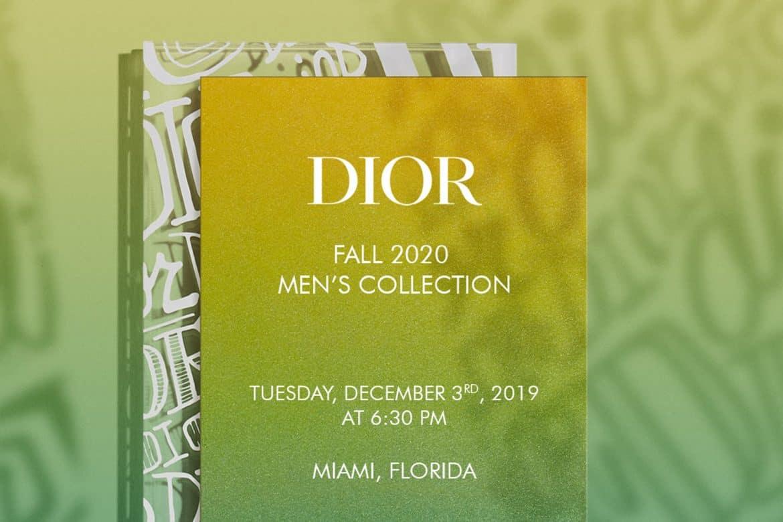 Dior Fall 2020