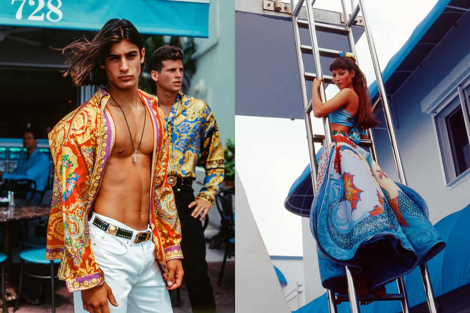 How Sasha Bikoff Is Bringing Vintage Versace Vibes to Your Home
