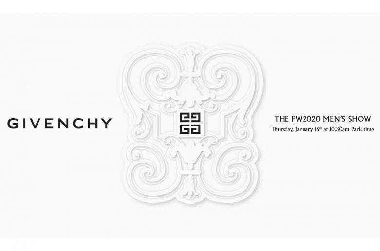 Givenchy Fall 2020 Menswear