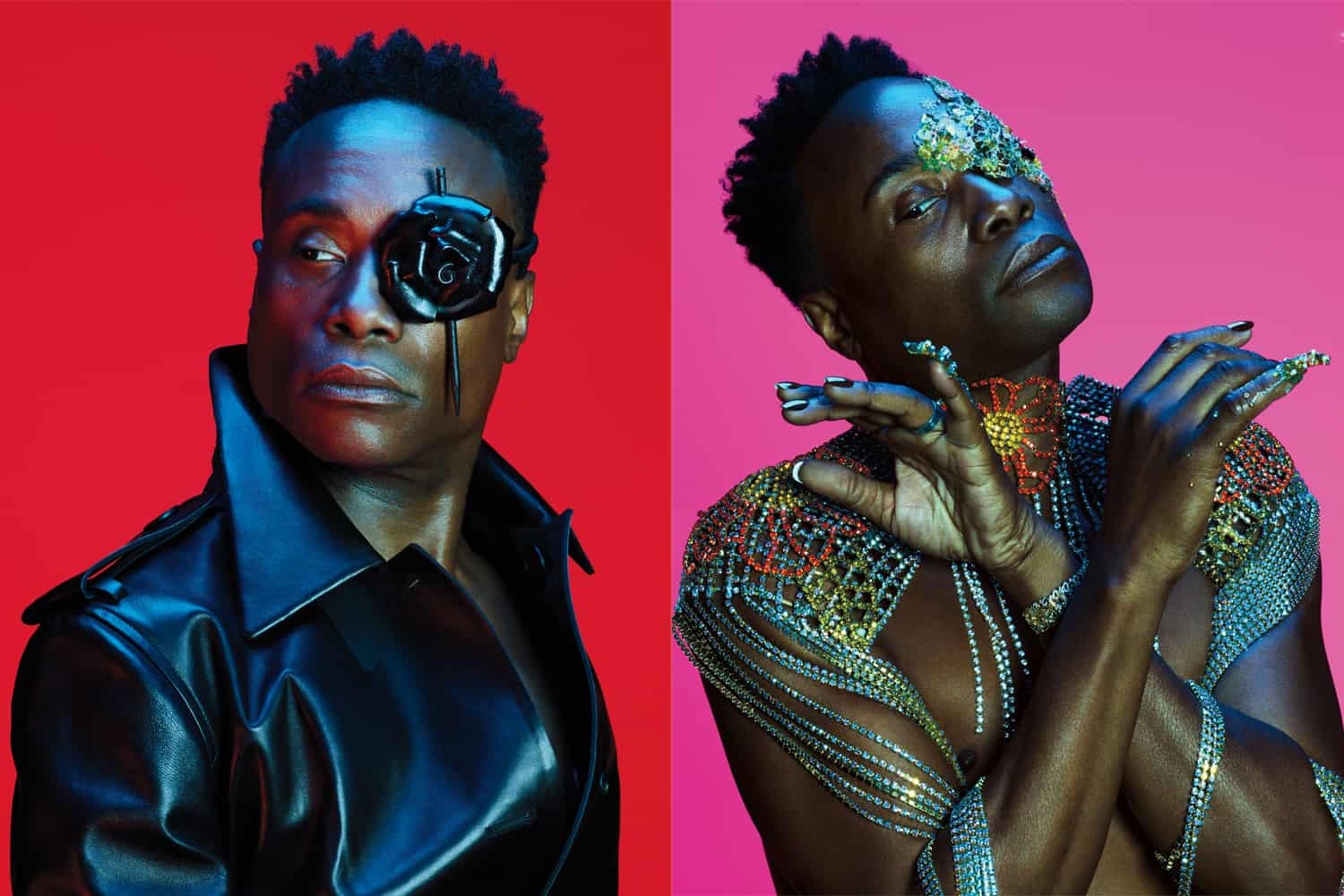 Image result for Billy Porter makes history as the first man to cover Allure magazine