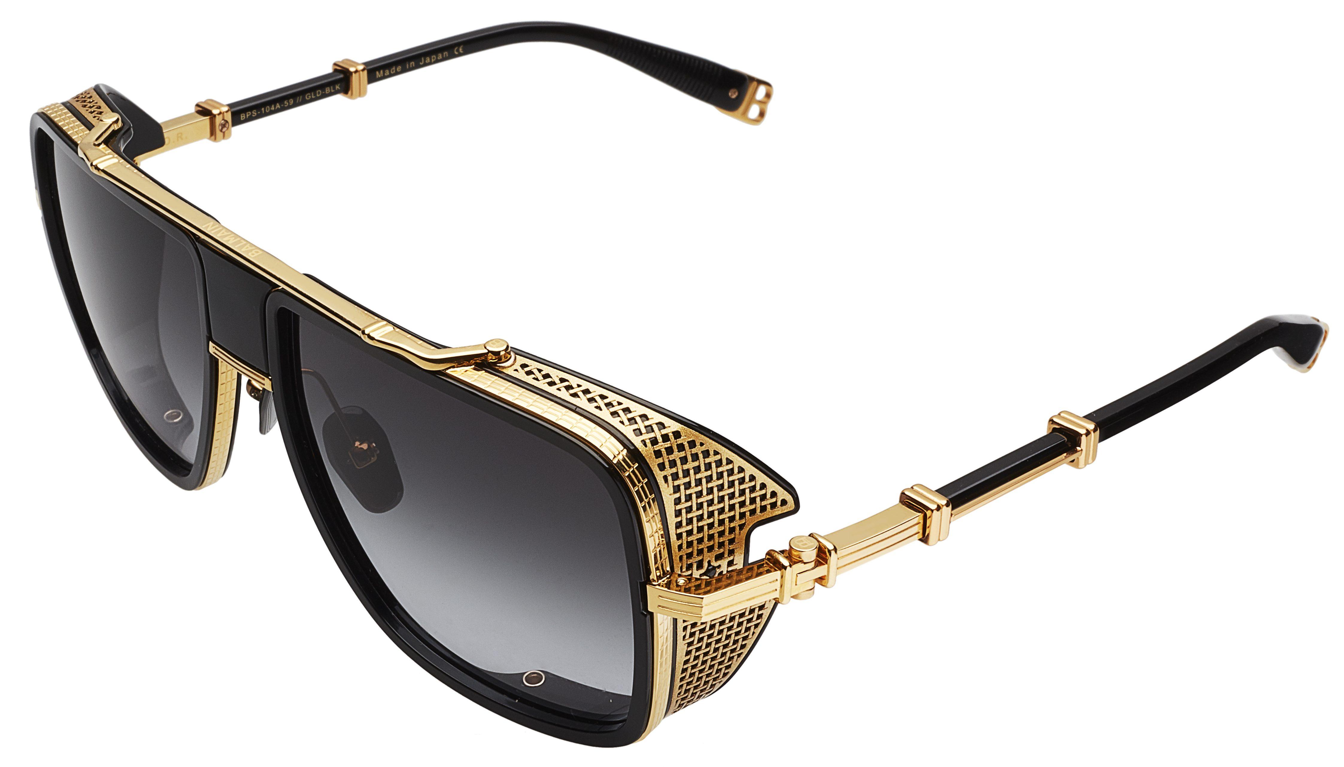 Balmain Debuts First Eyewear Collection With Akoni