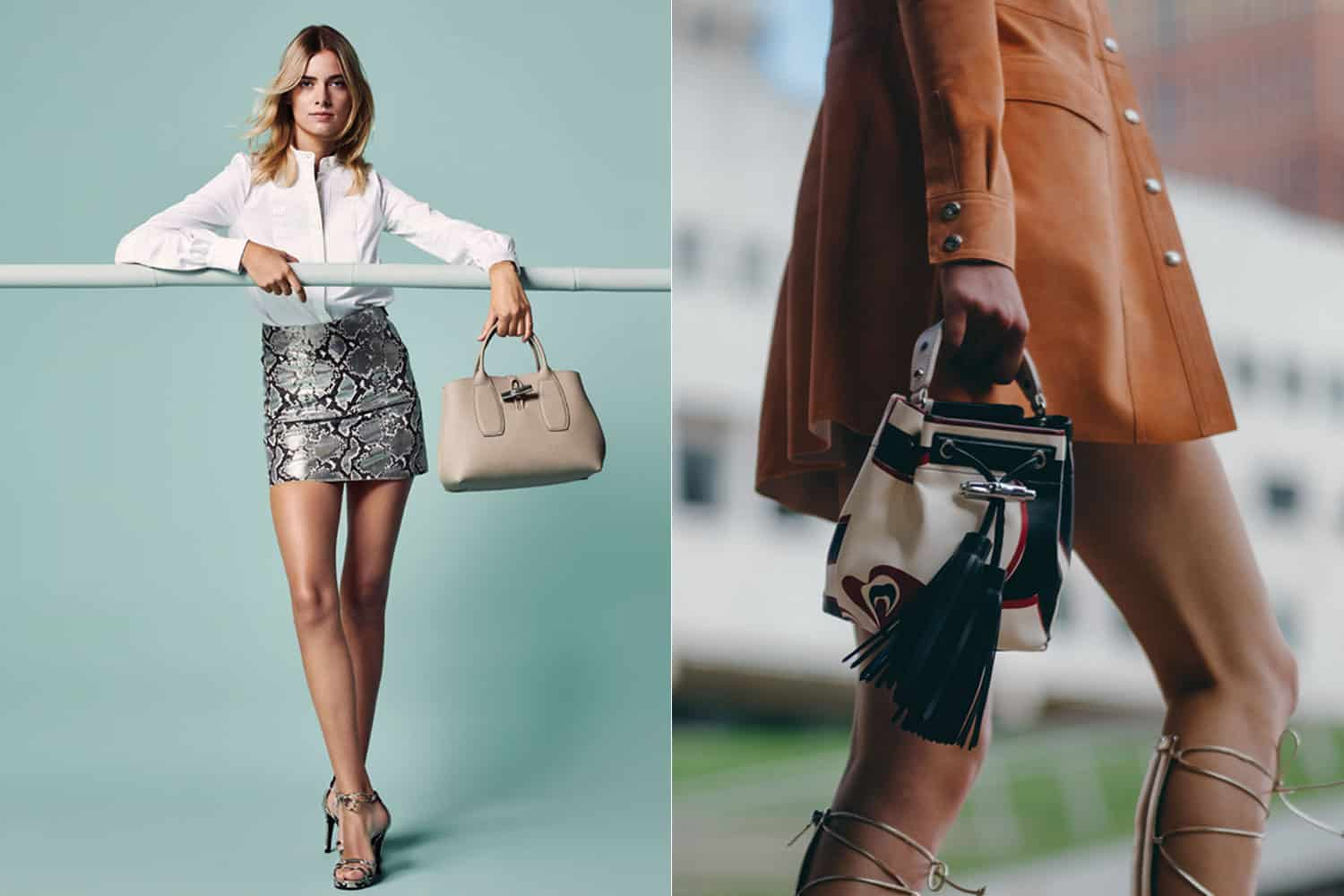 An Icon Returns: Longchamp Reinvents the Beloved Roseau Bag