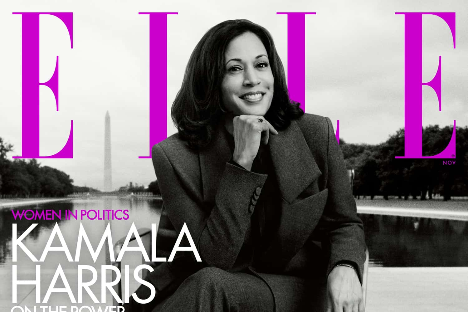 Kamala Harris Is The New Face Of ELLE's November Issue