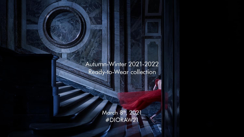 dior fall winter 21 livestream